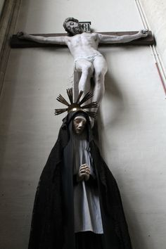 Our Lady of Sorrows, Church of Notre-Dame de la Chapelle, Brussels.