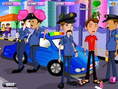 Police Kissing - Kiss Games Online - Dressup24h Kissing Games, Fashion Jobs, Up Game, Games For Girls, Online Games, Police, Family Guy, Singer, Career