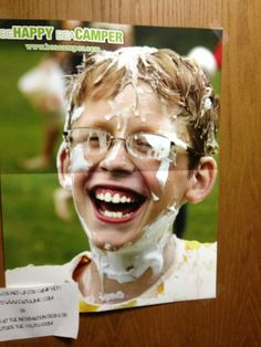 This was a poster advertising a church summer camp…Omfg that's funny!!!
