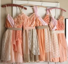 Love these for Bridesmaid dresses! Or maybe flower girl :)