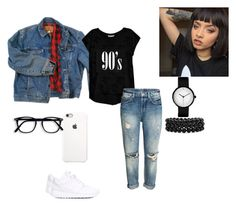 """""""1998"""" by sassy333love on Polyvore featuring Wrangler, NIKE, Bobeau and Bling Jewelry"""