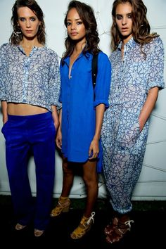 """The endless freedom of summer inspired the design team at Topshop HQ for SS14! From sunrise to sunset, on a beach or on a roof, this was a collection made with a """"Heat Rave"""" in mind. #Topshop #LFW #Unique #SS14"""