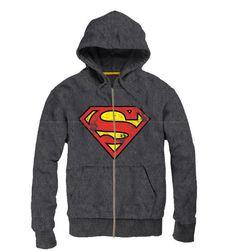Sudadera con capucha Superman, vintage