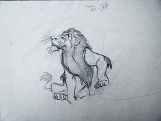 Scar - Disney animator andreas deja