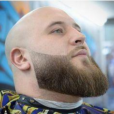 Bald With Beard, Beard Fade, Black Boys Haircuts, Haircuts For Men, Great Beards, Awesome Beards, Ginger Beard, Beard Lover, Beard Trimming