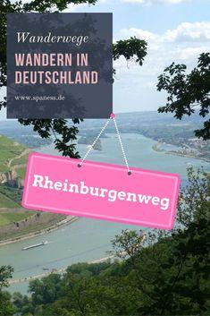 Wandertipp im Sommer in Deutschland Rheinland-Pfalz // Wandern Bingen // Wanderbericht Rheinburgenweg