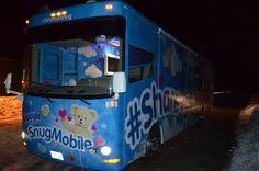 Customized RV #builtbyaxle #snuggle #snugmobile #promotionalvehicle #snugglethebear