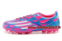 Boutique Homme Adidas Soccer Launch AdiZero F50 Crazylight AG Messis Rose