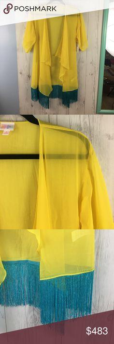 Lularoe Monroe Lularoe Monroe, never worn, new with tags. Sheer fabric LuLaRoe Tops Blouses