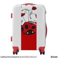 Ladybug Sweet Surprises Luggage