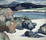 Scottish artists - The Scottish Colourists Landscape Artwork, Abstract Landscape Painting, Seascape Paintings, Landscape Rocks, Paintings I Love, Beautiful Paintings, Gallery Of Modern Art, National Portrait Gallery, Art Plastique