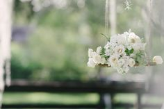 Rustic+and+Modern+White+Wedding+Inspiration+via+TheELD.com