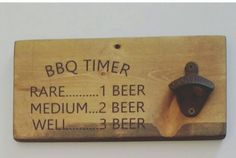 Custom Rustic Wood Wall Mount Bottle Opener, Gift for Dad, Funny Beer Signs, Cast Iron Bottle Opener