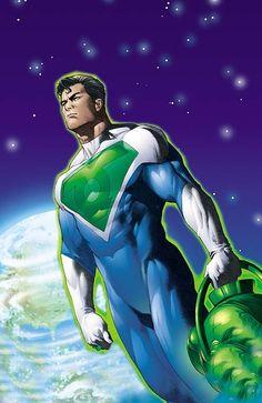 Superman Last Son of Earth Green Lantern