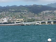 Hawaii, Pearl City.  That's Pearl City alright but the bridge is new.