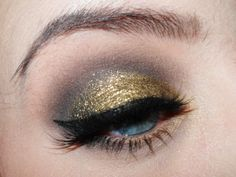 Black and Gold by Silje Beate on Makeup Geek