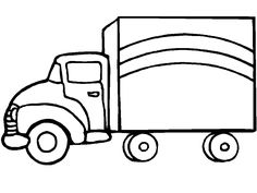 trucks coloring pages - Google Search