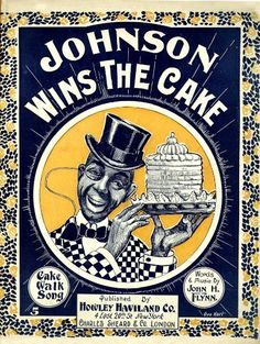 WONDERFUL A4 GLOSSY PRINT - 'JOHNSON WINS THE CAKE' - CIRCA 1897 (A4 PRINTS - VINTAGE SHEET MUSIC / SONG BOOK COVERS) by Unknown http://www.amazon.co.uk/dp/B004IVJAWG/ref=cm_sw_r_pi_dp_xl3ovb0CQ2DW4