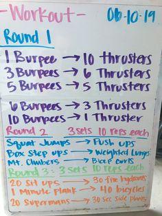 Plyo Workouts, Sandbag Workout, Full Body Hiit Workout, Wod Workout, Boot Camp Workout, Tabata, At Home Workouts, Bootcamps, Crossfit Wods