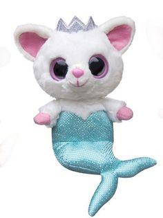 Peluche Pammee Fennec Fox Mermaid YooHoo & Friends azul € YooHoo and Friends soft plush. Ty Stuffed Animals, Plush Animals, Ty Beanie Boos Collection, Ty Peluche, Rare Beanie Babies, Ty Toys, Beanie Buddies, Cute Beanies, Crochet Dolls