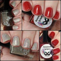 Ashley is PolishAddicted: Ever After Polish and Anonymous Lacquer: Viva Las…