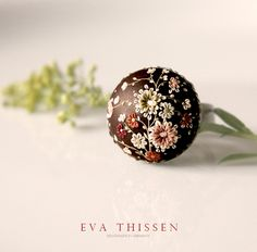 Beautiful Polymer Clay Ring by Eva Thissen. Fimo Polymer Clay, Polymer Beads, Polymer Clay Flowers, Polymer Clay Projects, Polymer Clay Creations, Clay Beads, Polymer Clay Jewelry, Plastic Fou, Biscuit