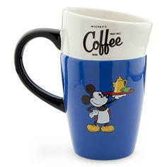 Mickey Mouse Stacked Coffee Mug