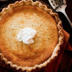 Looking for a lowcountry-style dessert for your Thanksgiving table? Try Buttermilk pie, a southern recipe perfected by Hominy Grill chef Robert Stehling.