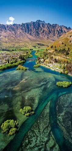 In sunny Queenstown, Otago, South Island, New Zealand