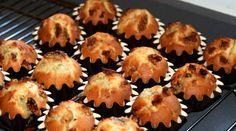 Sabor en cristal: Magdalenas con queso Roquefort y nueces