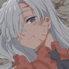 Seven Deadly Sins Anime, 7 Deadly Sins, Anime Wolf, Manga Anime, Princesa Elizabeth, Cyberpunk Anime, Elizabeth Liones, Seven Deady Sins, Anime Hair