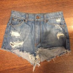 BDG high rise cheeky shorts never worn Brand new w/o tags BDG high rise cheeky denim shorts. Match everything, perfect brand new condition Urban Outfitters Jeans