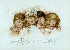 Frances Isabelle (Lockwood) Brundage (1854-1937) was een Amerikaanse illustrator bekendst voor haar afbeeldingen van aantrekkelijke en ...