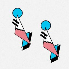 new #bling #design by @alioooop - check it. #memphisdesign #lasercut by damnspankin