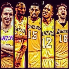 Lakers 12/13 team