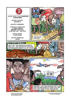 Diaspora Christmas - Interactive Comic  by 3bute.com - Interactive with ThingLink