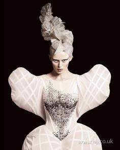 Efi Davies: Avant Garde Hairdresser of the Year 2010 finalist