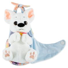 Our cuddly Bolt Plush has a soft, silky coat and his own blanket pouch for heroic huggability! This future canine crusader is one powerfully cute pup. Disney Stuffed Animals, Cute Stuffed Animals, Dinosaur Stuffed Animal, Disney Dogs, Disney Plush, Arte Disney, Disney Mickey, Bolt Disney, Disney Babys