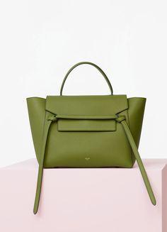 Spring / Summer Collection 2016 - Mini Belt Bag in Baby Grained Calfskin | CÉLINE