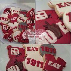 Fraternity Gifts, Kappa Kappa Psi, Kappa Alpha Psi Fraternity, Phi Beta Sigma, Omega Psi Phi, Alpha Kappa Alpha, 60th Birthday Party, Surprise Birthday, Birthday Cakes