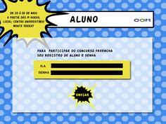 Inscrição de Aluno