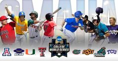 The schedule is set for opening weekend of the 2016 College World Series…do you know where your seats are? New Constant Contact out today! Baseball Tournament, College World Series, Opening Weekend, First Round, Athlete, Champion, Baseball Cards, D1, Schedule
