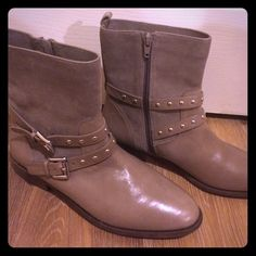 Coach studded boots Brand new without box! They are super cute, I just haven't worn them. I would like to get what I paid for. They are true to size! Price is firm Coach Shoes Ankle Boots & Booties