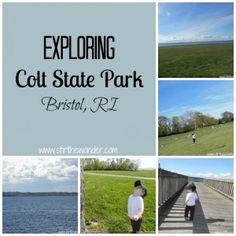 Exploring Colt State Park, Bristol, RI