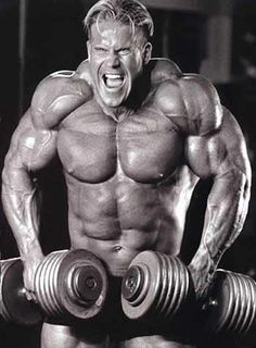 Jay Cutler - Dumbbell Shrugs