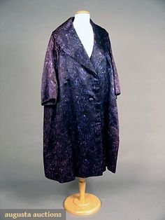 Christian Dior Couture Evening Coat, 1950s, Augusta Auctions, May 2007 Vintage Clothing & Textile Auction, Lot 765