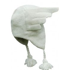 Bonnet blanc ailes Hermès de Happyeti : Pour croire que ma pitxounette d'amour est un ange !