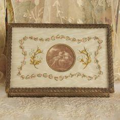 Antique Edwardian French Ribbon Work