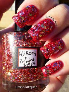 Glittery & Bright 2013.