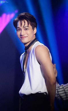His adorable smile